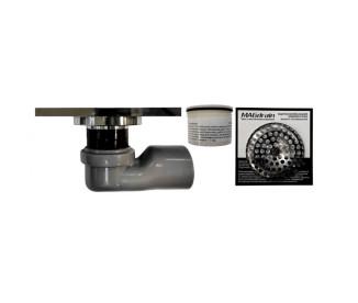 Трап для душа MAGdrain FC11Q50-Q (100x100x10 мм, бронза полированная, латунь)